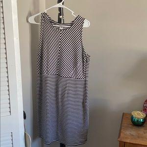 Old navy striped sleeveless dress